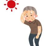 熱中症の男性